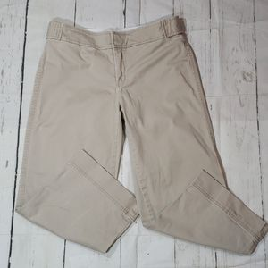 Old Navy khaki cropped capri stretch 6